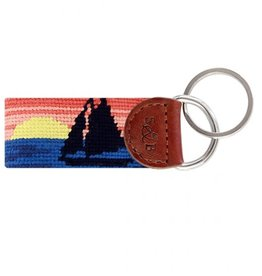 Smather's & Branson Key Fob Sunset Sailing