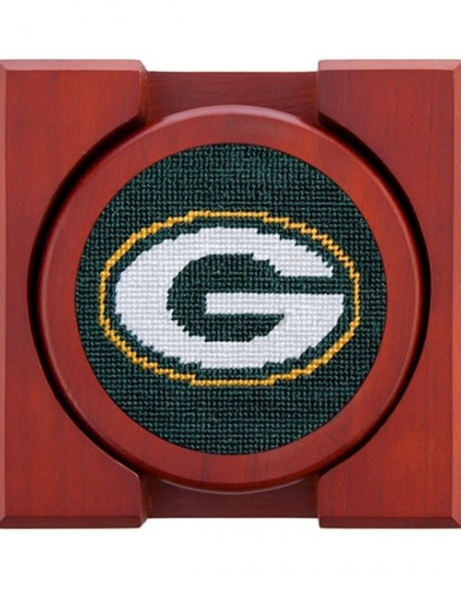 Smather's & Branson Coasters Green Bay Packers