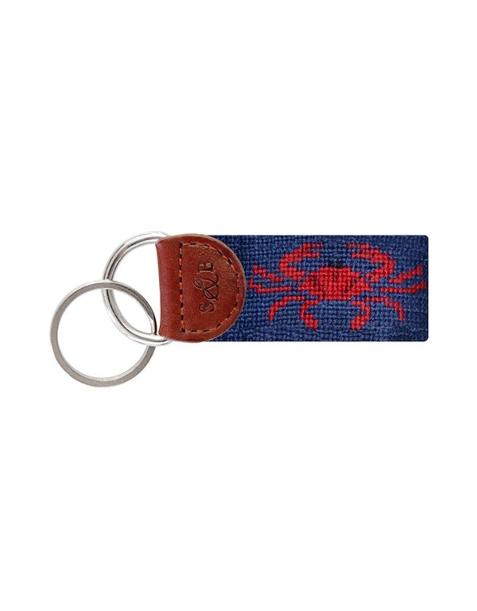 Smather's & Branson Key Fob Red Crab