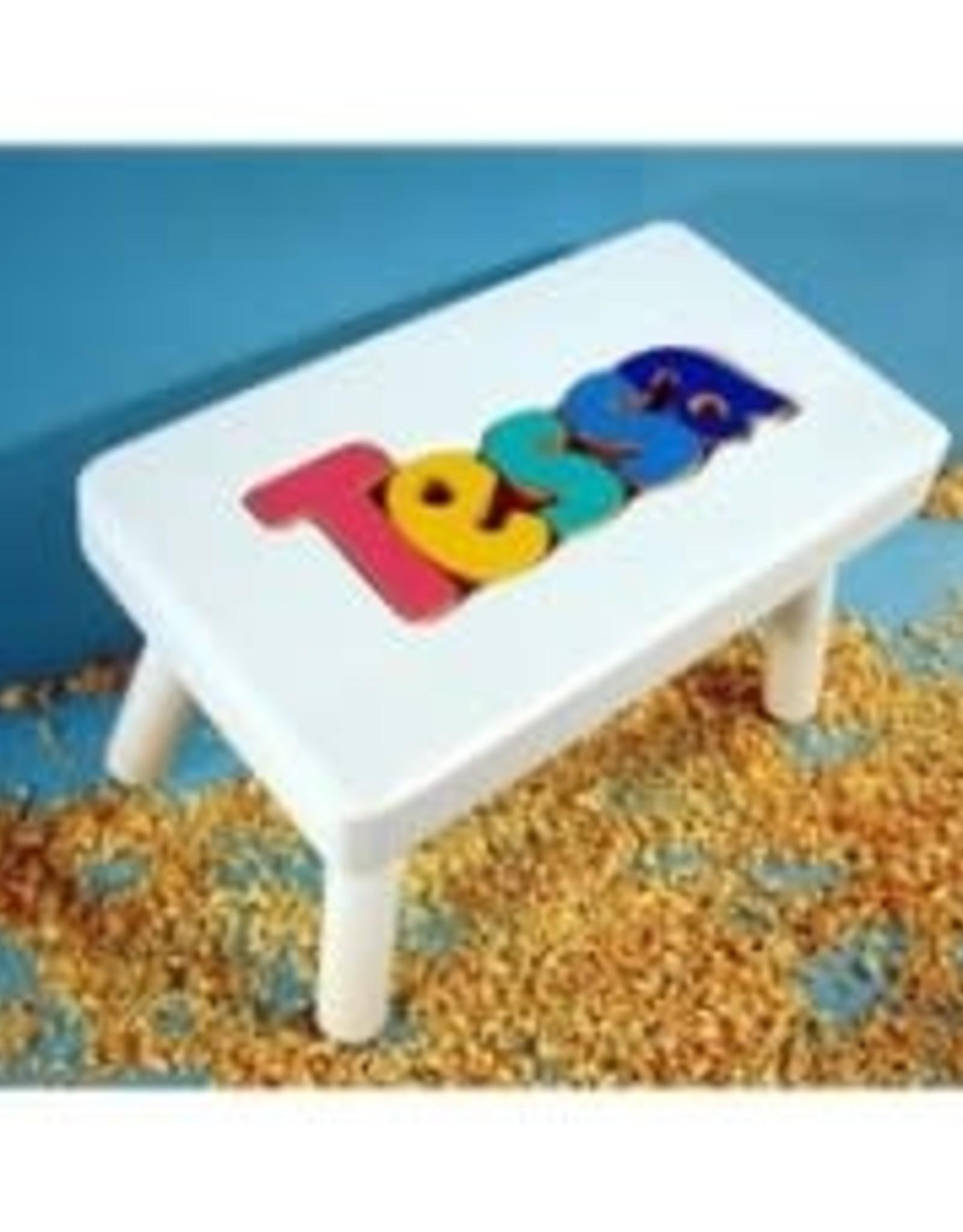 Cubbyhole Toys Stool White Puzzle