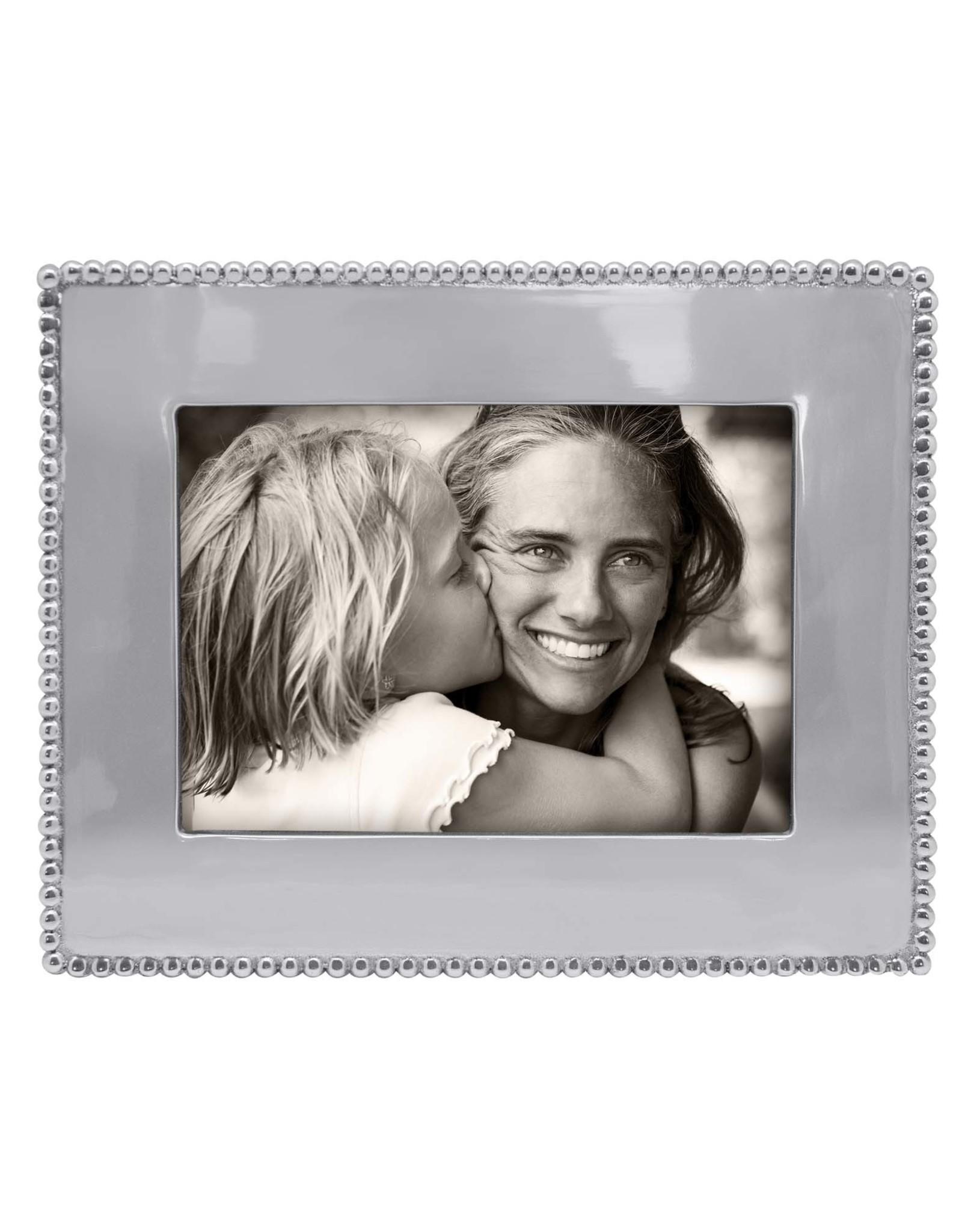 Mariposa Beaded 5x7 Engraveable Frame