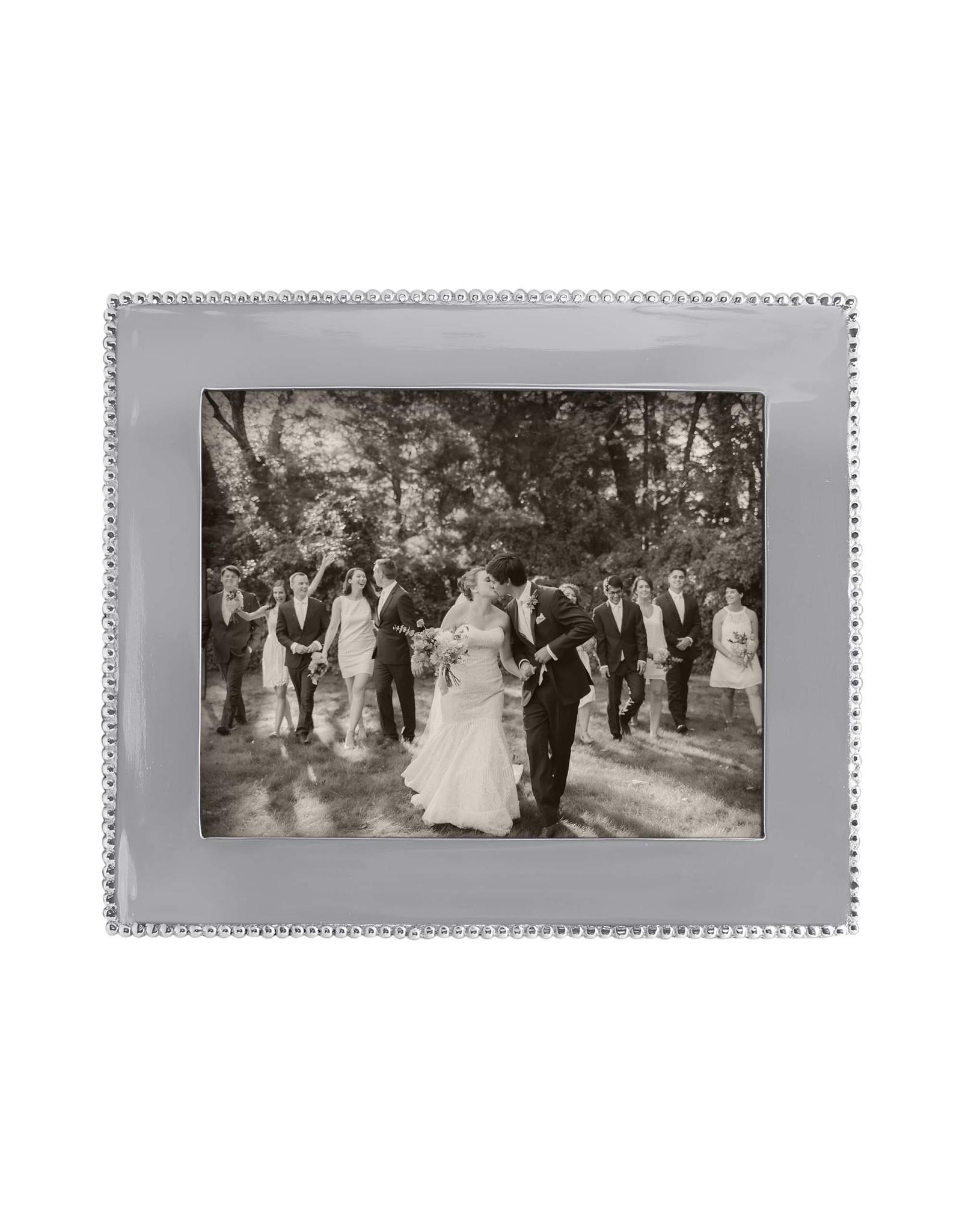 Mariposa Beaded Engraveable Frame 8x10