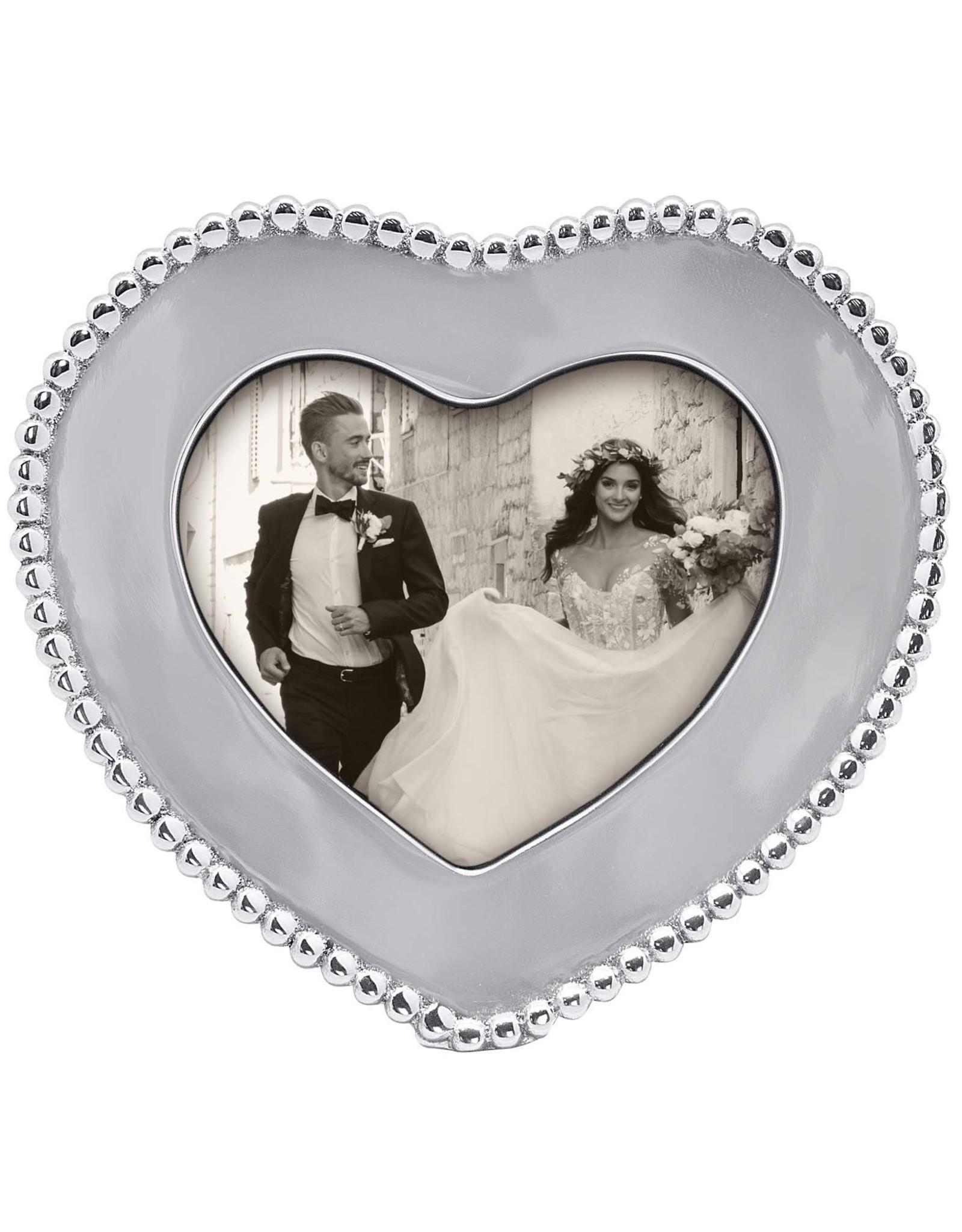 Mariposa Beaded Heart Frame