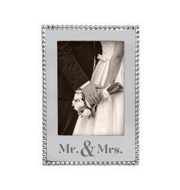 Mariposa Frame 5x7 Mr & Mrs Vertical