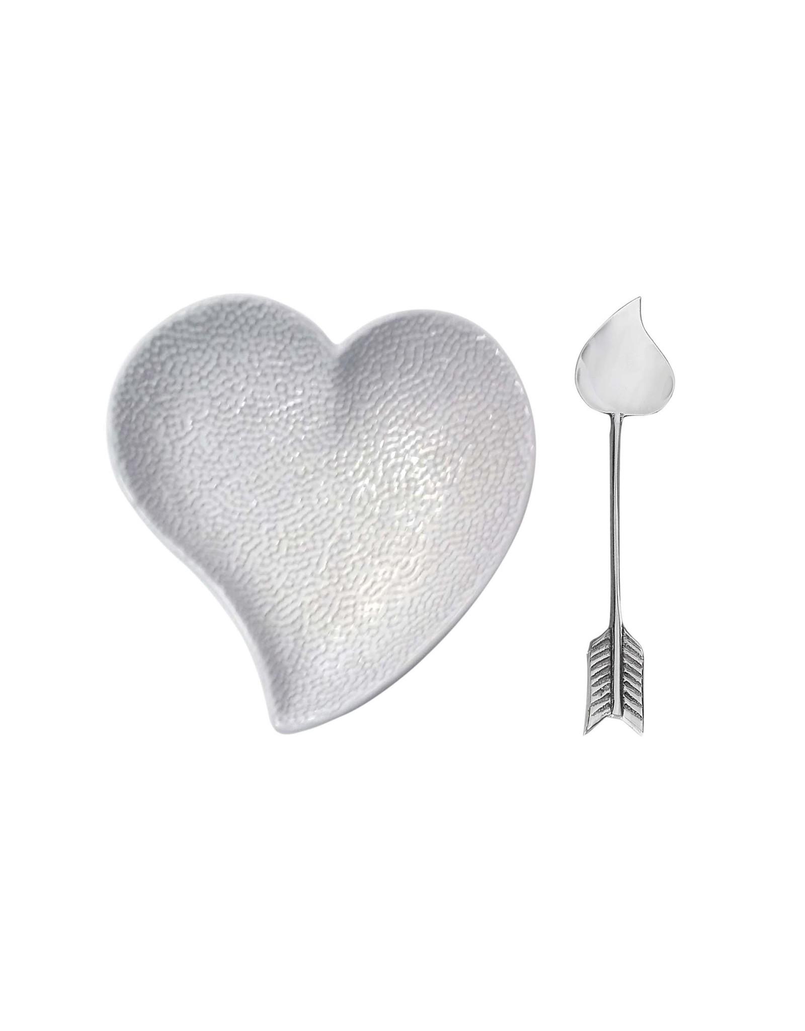 Mariposa Heart Ceramic dish & Arrow