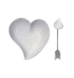 Mariposa Heart Ceramic dish & Arrow