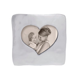 Mariposa Large Square Open Heart Frame