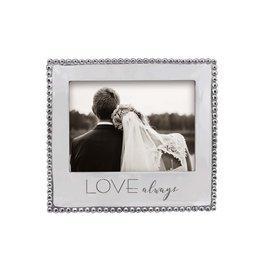 Mariposa Love Always Beaded 5x7 Frame