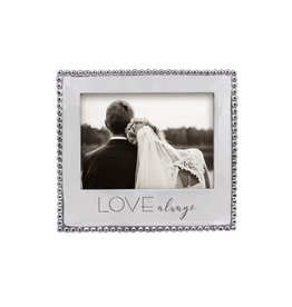Mariposa Love Always Beaded 5x7 Frame