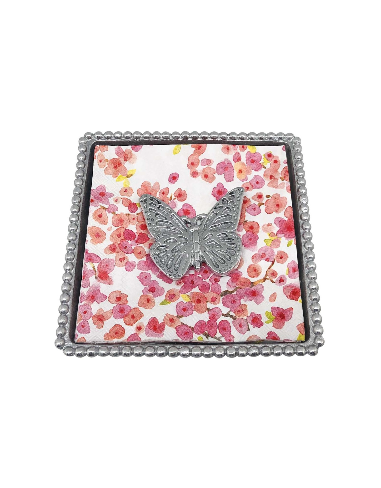 Mariposa Monarch Napkin Box
