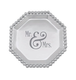 Mariposa MR  & MRS Pearled Octagonal