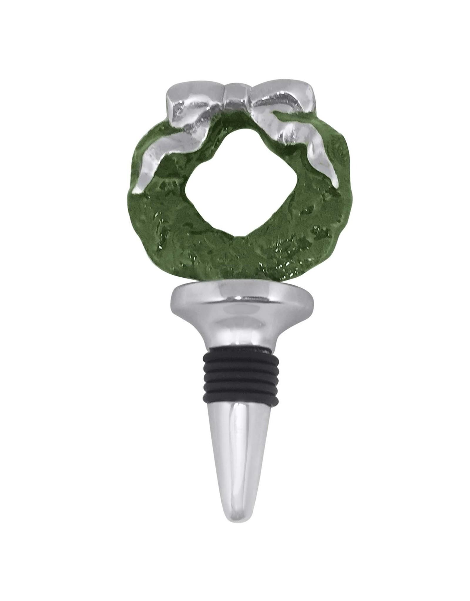 Mariposa Wreath Bottle Stopper