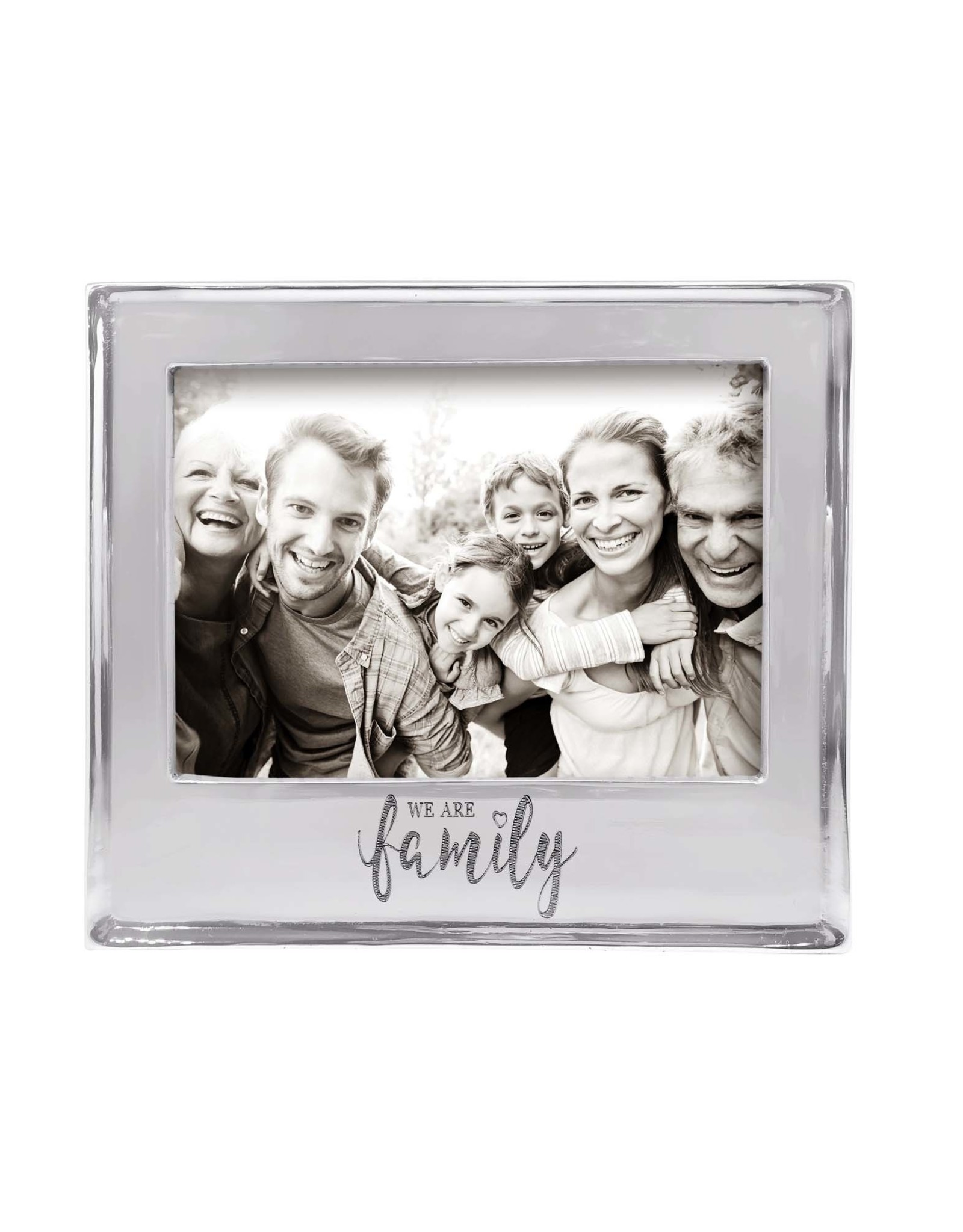 Mariposa We Are Family 5x7 Statement Frame