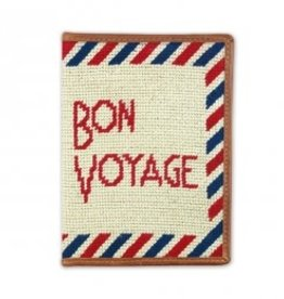 Smather's & Branson Passport Case Bon Voyage