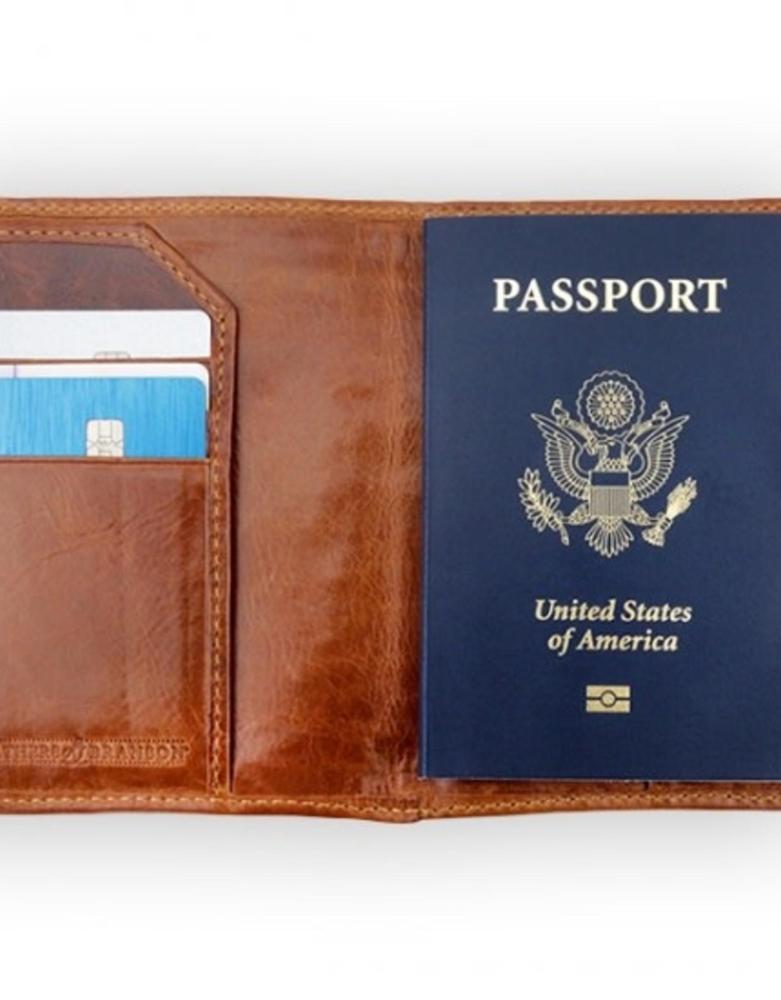 Smather's & Branson Passport Case Travel Stickers