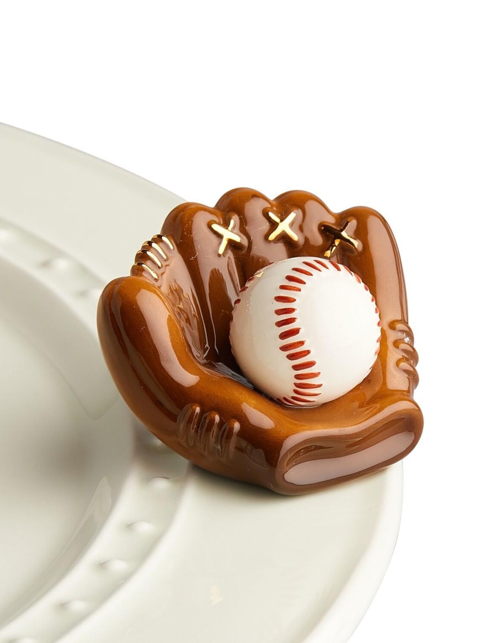 Nora Fleming Mini Baseball Mitt