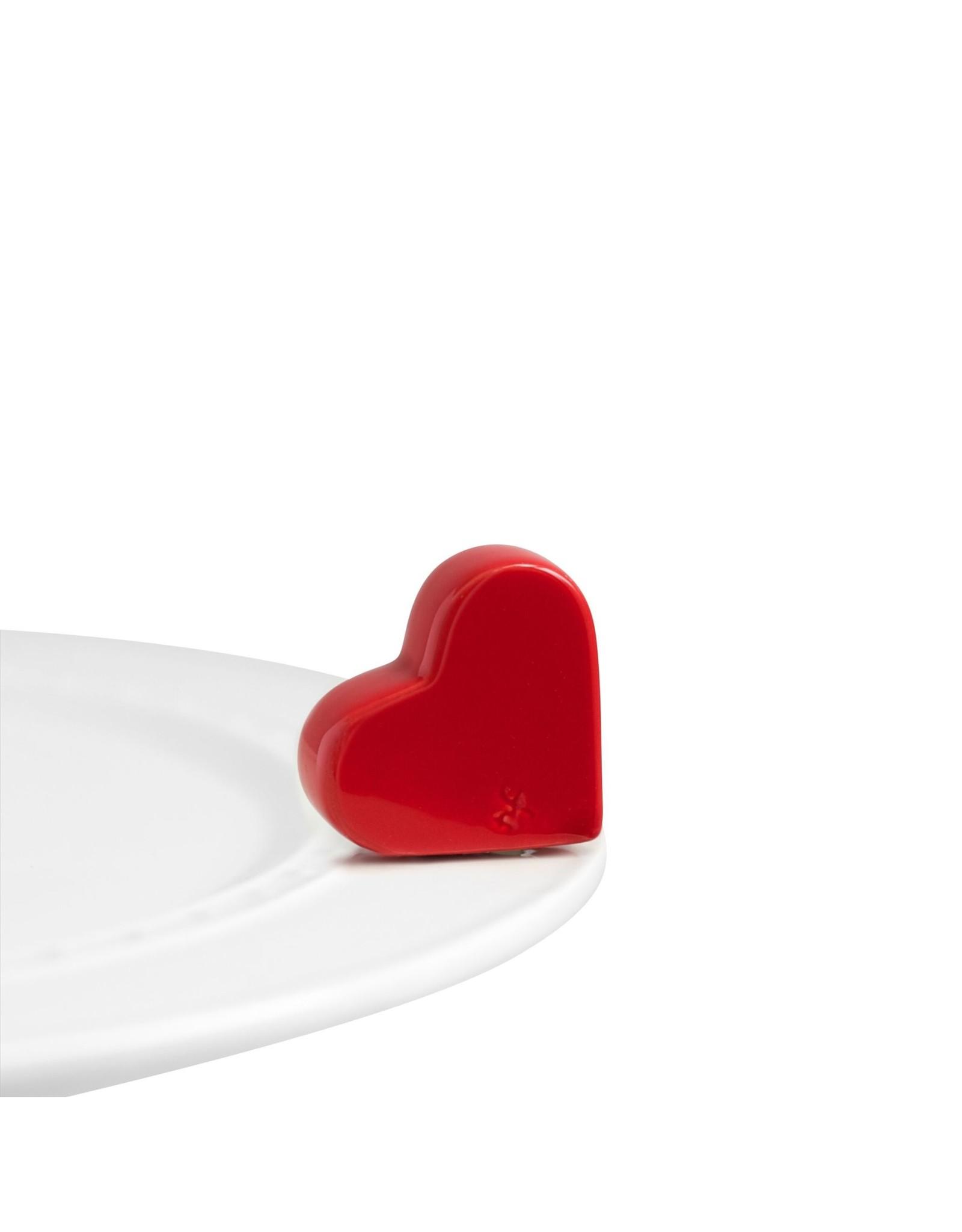 Nora Fleming Mini Red Heart
