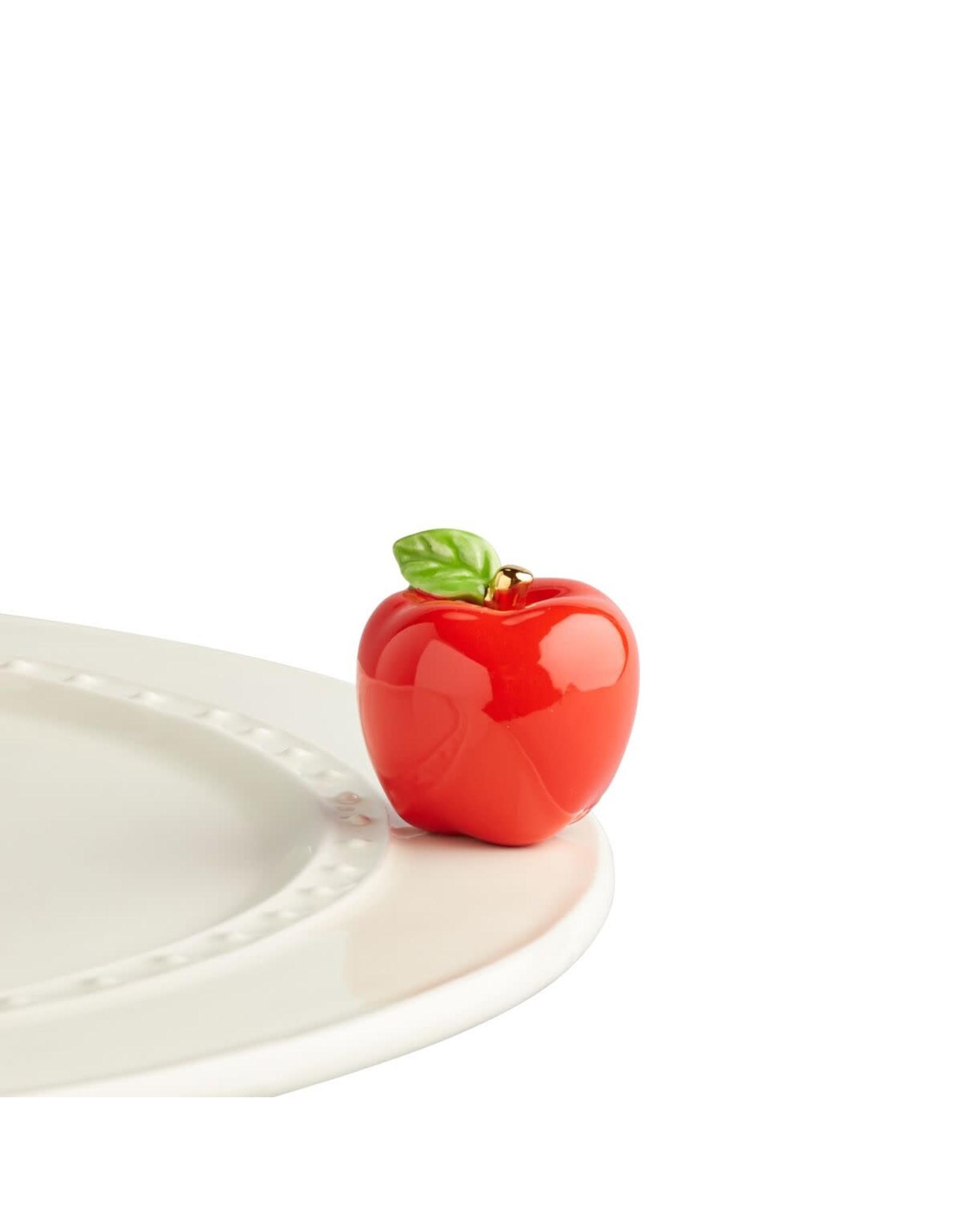 Nora Fleming Mini Red Apple