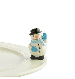 Nora Fleming Mini snowman