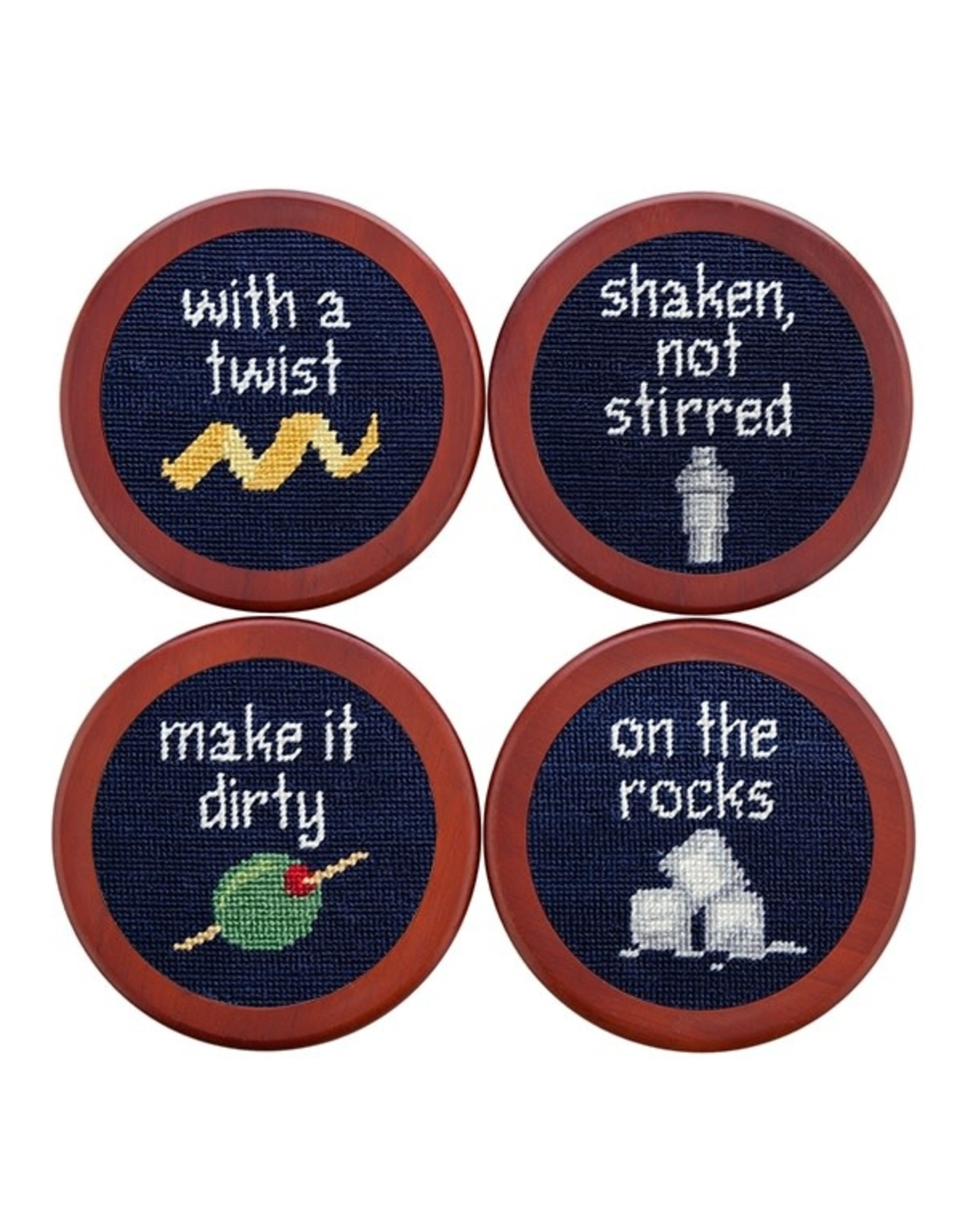 Smather's & Branson Coaster Set Cocktail Orders