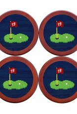 Smather's & Branson Coaster Set 19th Hole