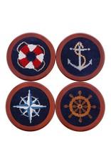 Smather's & Branson Coaster Set Nautical Life
