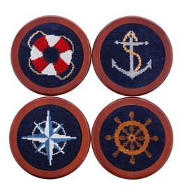 Smather's & Branson Coaster Set Nautical Life