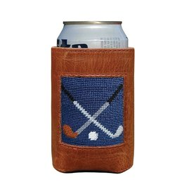Smather's & Branson Can Cooler Crossed Clubs