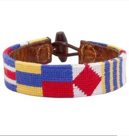 Smather's & Branson Nautical Alphabet Bracelet