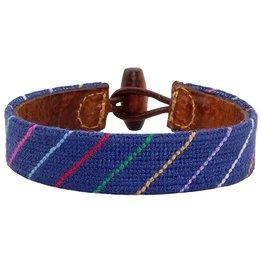 Smather's & Branson Carter Stripe Bracelet