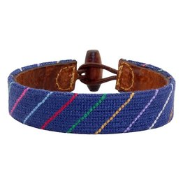 Smather's & Branson Carter Stripe Bracelet