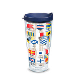 Tervis Tumbler 24oz/lid Nautical Flag Wrap