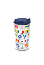 Tervis Tumbler 16oz/lid Nautical Flag