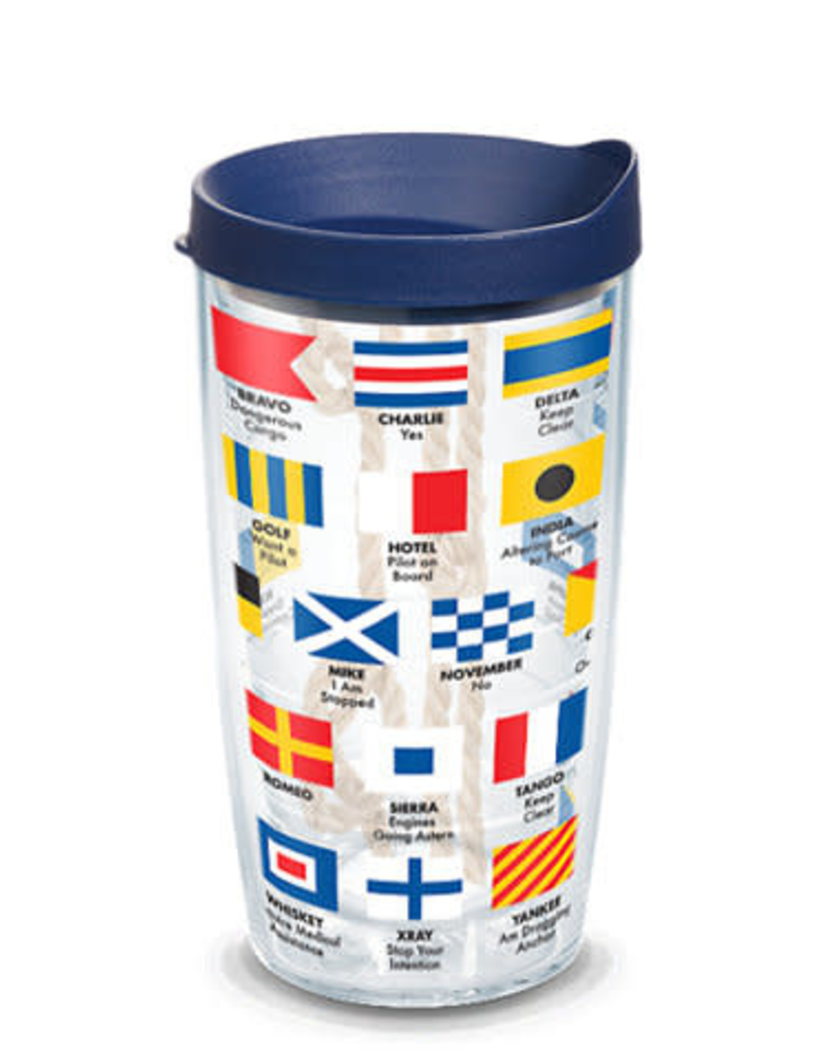 Tervis Tumbler 16oz/lid Nautical Flag
