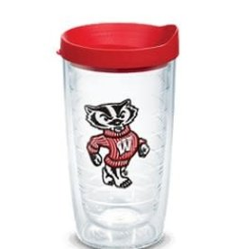 Tervis Tumbler 16oz/lid Wisconsin Badger