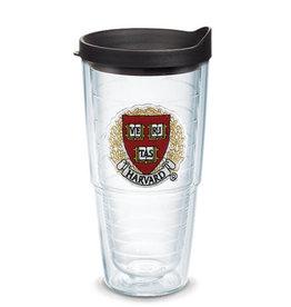 Tervis Tumbler 24oz/lid Harvard