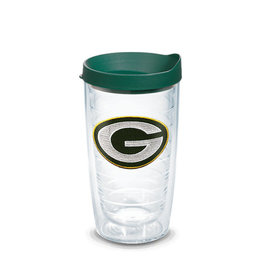 Tervis Tumbler 16oz/lid Green Bay Packers
