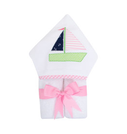 Three Marthas EveryKid Towel Sailboat Girl