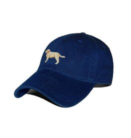 Smather's & Branson Hat Yellow Lab on Navy