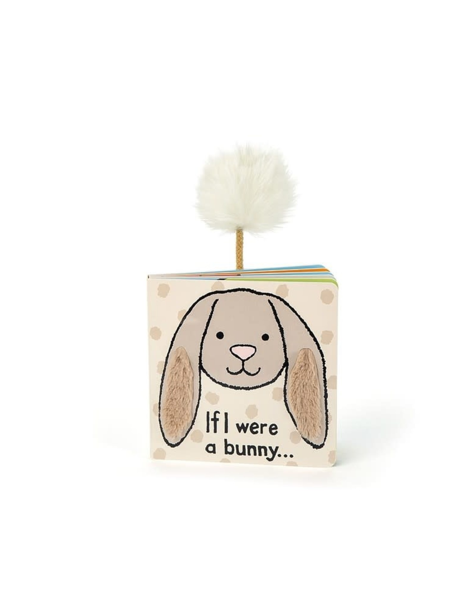 Jelly Cat If I were a Bunny Book Tan