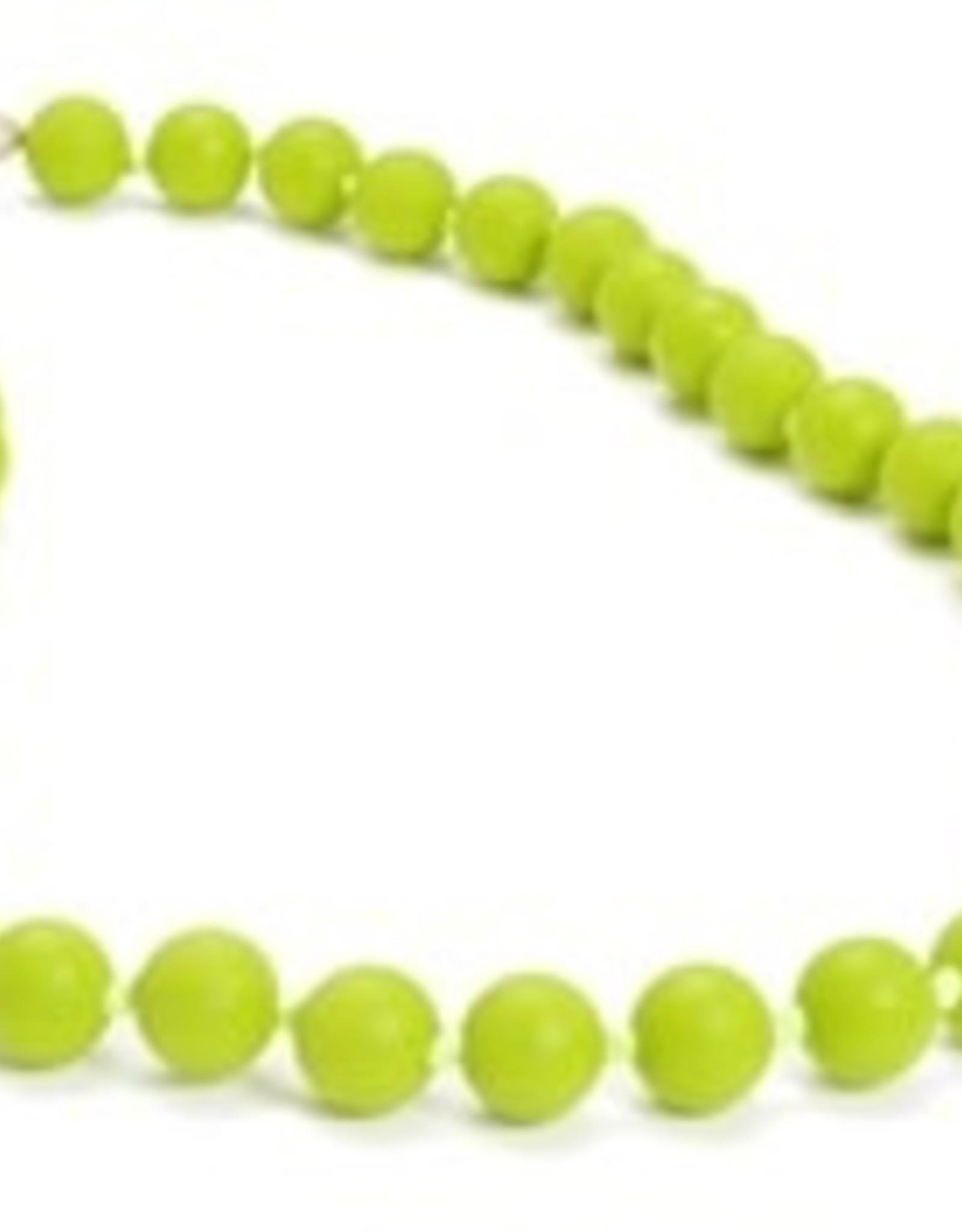 Chewbeads Jane Necklace Chartreuse
