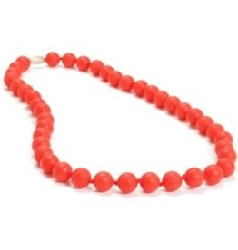 Chewbeads Jane Necklace Cherry Red