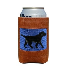 Smather's & Branson Can Cooler Black Lab