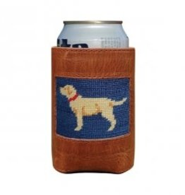Smather's & Branson Can Cooler Yellow Lab
