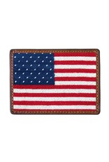 Smather's & Branson Card Wallet  Big US Flag