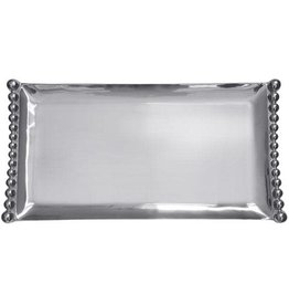 Mariposa Pearled Flanked Large Tray xx