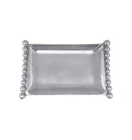 Mariposa Pearled Flanked Small Tray xx