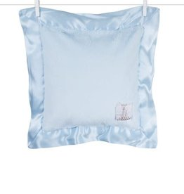 Little Giraffe Luxe Pillow Blue