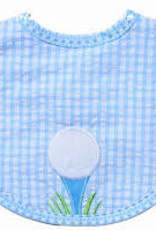 Three Marthas Bib Basic Blue Golf