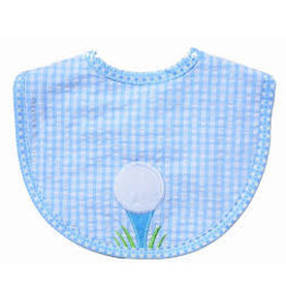 Three Marthas Bib Basic Blue Golf